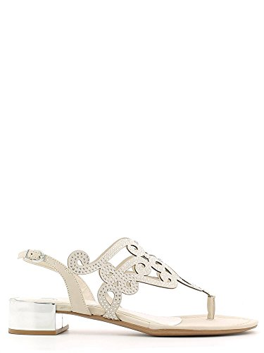Grace shoes 0-72105 Sandalo infradito Donna Off white 35