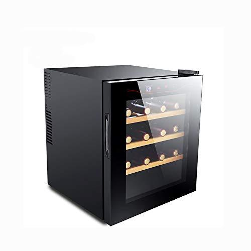MSG ZY 12-16 Flaschen Weinkühler/freistehender Weinkühlschrank, Touchscreen-Weinkeller, Zigarrenschrank, Feuchtigkeitsspendende 360   ° -Konstanttemperatur-Mute-Weinkühler (12 Weinkeller Flasche)