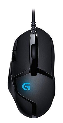 Logitech G402   Ratón para gaming con 8 botones programables Hyperion Fury  color negro