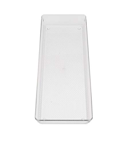 Store2508® Clear Acrylic Organiser Tray (38 * 15 * 5 cm) (Pack of 1)