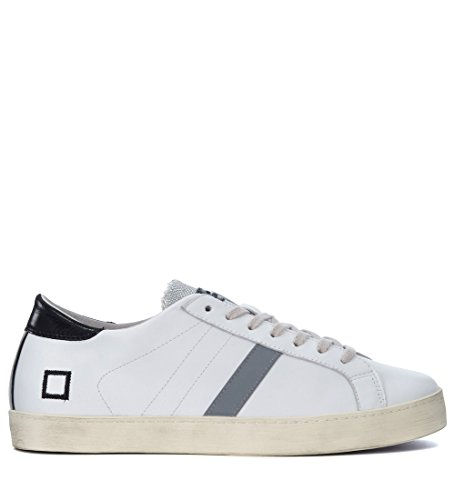 D.A.T.E. Date Hill Low Calf Sneakers Homme Blanc