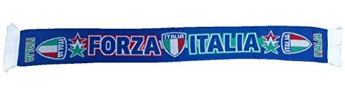 Bufanda Italia blau Forza Italia