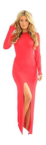Glamzam -  Vestito  - Donna Rosso