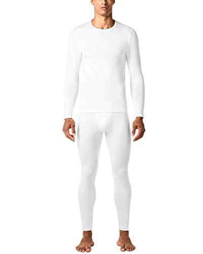 LAPASA Uomo Set Intimo Termico Ti Tiene al Caldo Senza Stress T Shirt Maniche Lunghe & Pantaloni Invernali Lightweight M11