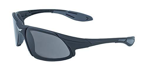 Global Vision Eyewear Sonnenbrille Code-8Serie, Damen, schwarz
