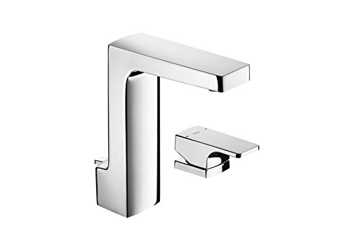 Roca L90 – grifo monomando para lavabo con maneta de repisa y desagüe automático . Griferías hidrosanitarias Monomando. Ref. A5A3A01C00