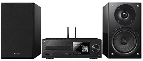 Pioneer X-HM 86 D-B Netzwerk CD Receiver System (65W pro Kanal, Streaming Vielfalt, FireConnect ready, Google Cast ready, tuneIn Internetradio, DAB+, WiFi und Bluetooth integriert) schwarz Home Stereo Receiver Pioneer