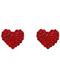 ba537b7bbdff Amazon.es  Amor - Pendientes   Mujer  Joyería