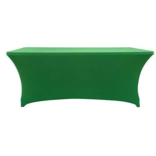 puyangjiangxing Hotel Konferenz - Stretch - und Tisch Decken tischdecken rechteckigen elastischen und Tisch Decken Stretch - Tisch Decken unterstützung Gras grün