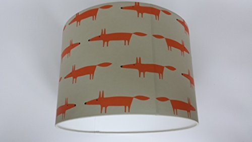 12-30-cm-little-fox-ceiling-lightshade-handmade-from-spirit-soul-scion-beige-wallpaper-mr-fox