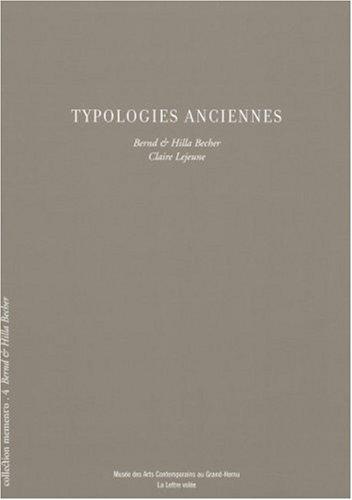 Typologies anciennes par Bernd Becher