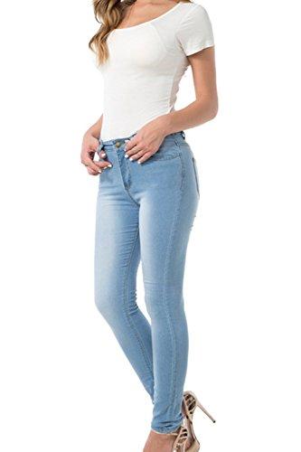 Les Jeans Skinny Des Pantalons Jeans Pantalon Extensible Skyblue