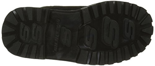 Skechers Mecca, Desert Boots Garçon Noir (Blk Noir)