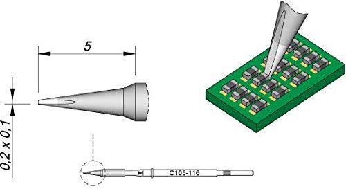 Jbc - Punta de soldador para Nano C105116