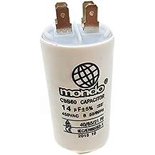 14 µF universal Mondo condensador, 450 V), ...