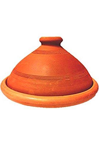 Original Tajine aus Marokko, unglasiert 30 cm f. 3-4 Personen