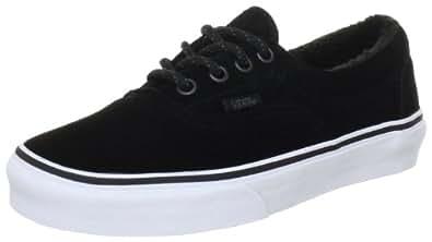 Vans Era VQFK769, Unisex - Erwachsene Klassische Sneakers, Schwarz ((Pig Suede/Fleece) black), EU 36 (US 4.5)