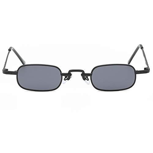 Shiduoli Rechteckige Sonnenbrillen mit kleinem Rahmen für Männer und Frauen (Color : B)