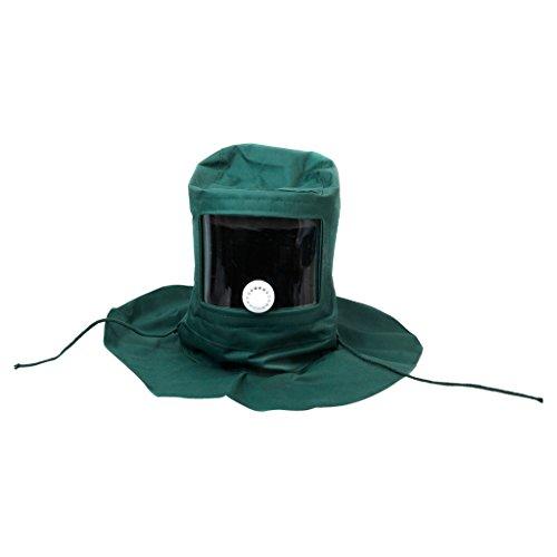 B Blesiya Sandstrahl-Maske, Sandstrahlhaube Maske Anti Werkzeug Wind Schutzmaske Schutzmaske Sandstrahler Sandstrahlhaube Maske