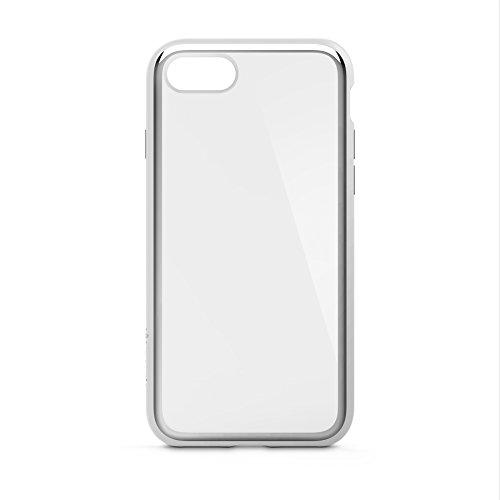 Belkin SheerForce Elite Schutzhülle (Polycarbonat, Sturzsicherheit, Anschlüsse frei zugänglich, geeignet für iPhone 8/7) silber