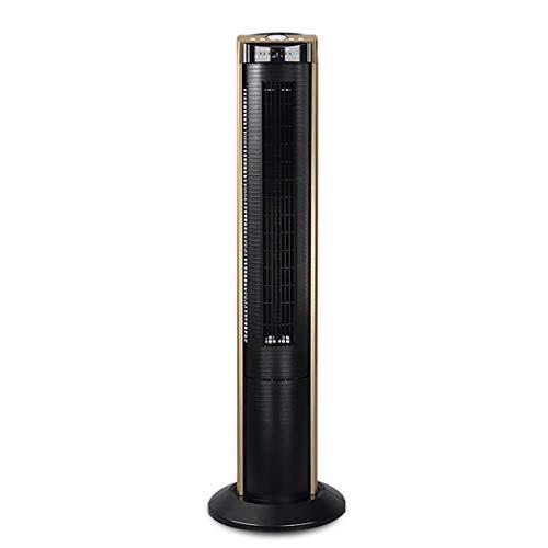 High Velocity Cooling Fan (WW&C Turm-Fans, Mute Household Tower Fans, 5-Gang-Adjustating Oscillating Standing Fan mit Fernbedienung, Ideal für Home und Office,Gold)