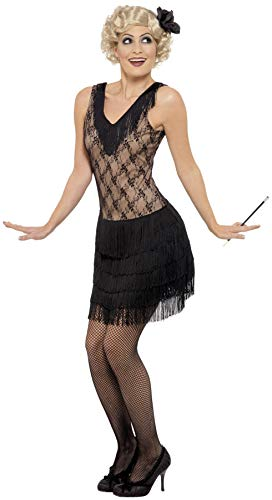 Smiffys Costume All That Jazz, robe avec coiffe