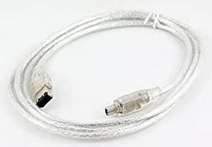 High Grade - Firewire Cable for Sony DCR-HC22E MiniDV Handycam Camcorder - 4 to 6 Pin i.LINK Lead ( For PC & Mac ) - AAA Products - 12 Month Warranty