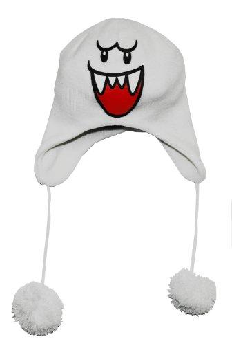super mario merchandise muts, Boo ski beanie (Figur Mario Pop)