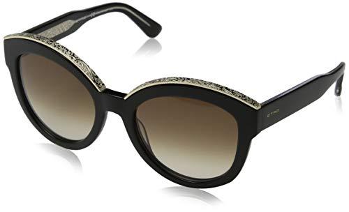 Etro Damen ET604S 001 55 Sonnenbrille, Black, - Etro Damen Bekleidung