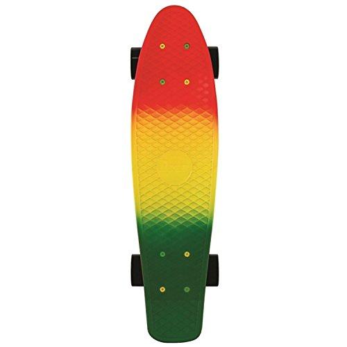 Penny Skateboard Fader , Red/Yellow/Green, 22 Zoll, PENDEK22FASE (Penny Nickel Skateboard 22 Zoll)