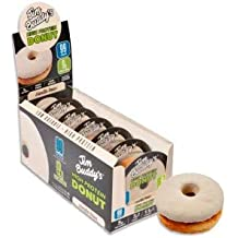 Donut Proteico Sabor Vainilla Jim Buddys 58g
