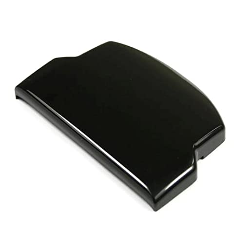 Assecure Extended Battery Case Cover For Sony PSP 2000 (Slim) & 3000 (Glossy Piano black) - For use with larger battery