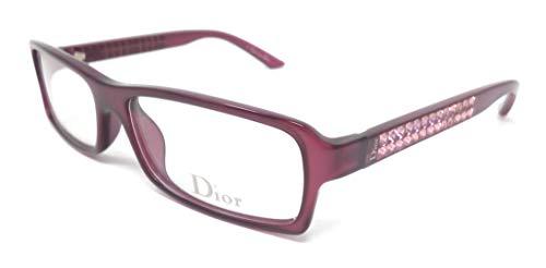 Christian Dior Damen Brillengestell Violett Pflaume