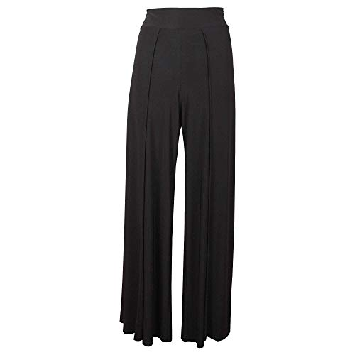 Frank Lyman High Waist Wide Leg Black Trousers