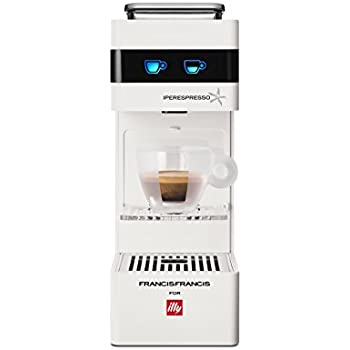 Illy 949837 Máquina de café en cápsulas 1 Liter, Color blanco