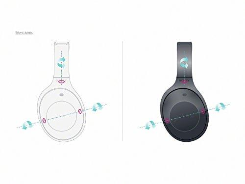 Sony MDR-1000X kabelloser High-Resolution Kopfhörer (Noise Cancelling, Sense Engine, NFC, Bluetooth, bis zu 20 Stunden Akkulaufzeit) schwarz - 26