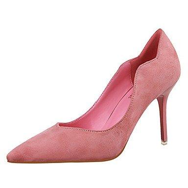 Moda Donna Sandali Sexy donna tacchi tacchi Estate Felpa casual Stiletto Heel altri Nero / Marrone / rosa / rosso / grigio altri Brown