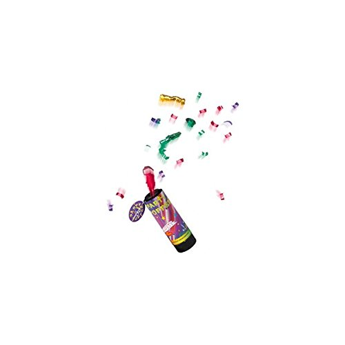 Susy Card 11289147 - Party Popper, 4 Stück (Card Party)