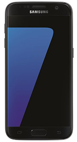 Samsung Galaxy S7 Smartphone débloqué 4G (Ecran : 5,1 pouces - 32 Go - 4 Go RAM - Simple Nano-SIM - Android) Noir (Import Allemagne)