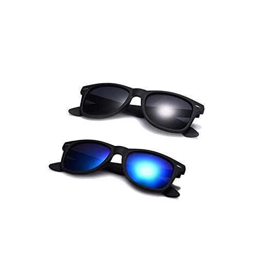 Sportbrillen, Angeln Golfbrille,Fashion Sunglasses Men Polarisiert Sunglasses Men Driving Mirrors Coating Points Black Frame Eyewear Male Sun Glasses UV400 C5-C6