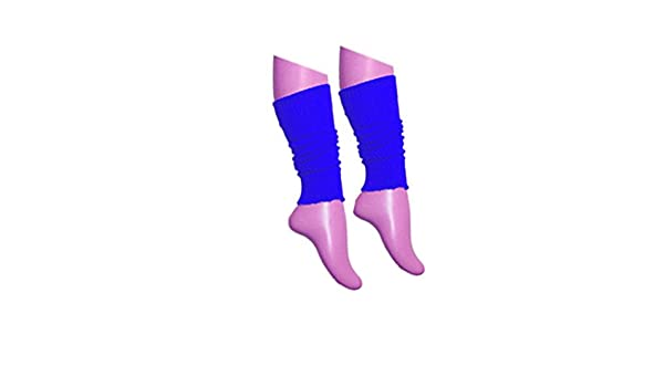 Ladies Girls Teen 80/'s Dance Plain Ribbed Leg Warmers Legwarmers 15 Colours Tutu