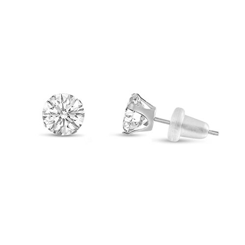 kezef-round-4mm-white-cz-10k-white-gold-stud-earrings