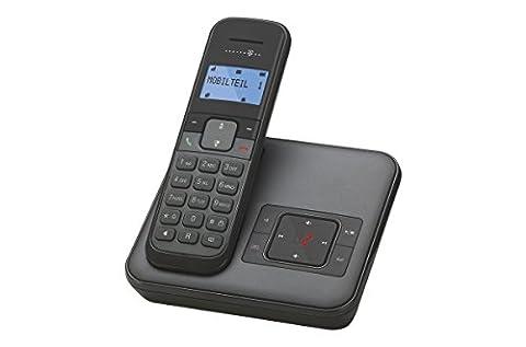 Telekom Sinus CA 34 - schnurloses Telefon mit Anrufbeantworter (Standard/Analog, AB, Full Eco Mode, 50 (Telefon Von Amazon)