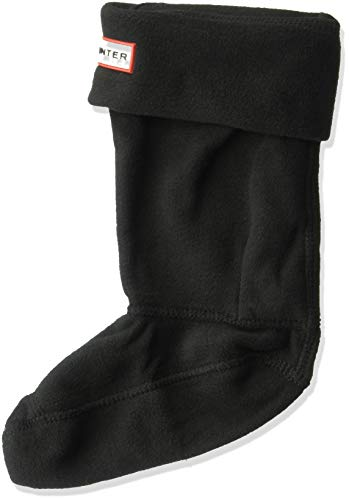on Fleece Boot Socks in Various Colours Small Black ()