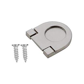 SO-TECH/® Maniglia ad Arco BG01e VERO ACCIAIO INOX massiccio /Ø 10 mm Distanza Fori 320 mm Maniglie per Mobili Maniglia in Acciaio Inox