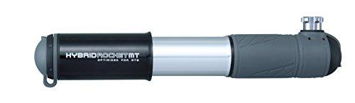 Topeak Hybrid Rocket MT MTB ausziehbarer Schlauch CO2-Funktion schwarz schwarz