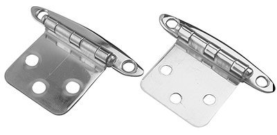 Sea Dog 201954-1 Stainless Steel flush-Mount Concealed Hinge, 2-3/4 x 1-7/8-Inch by Sea Dog Line (Flush Mount Hinge)