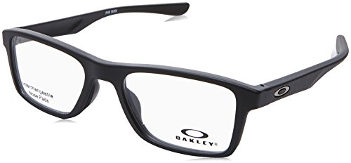 Ray-Ban Unisex-Erwachsene Fin Box Brillengestelle, Schwarz (Negro), 51