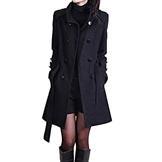 Grauer Mantel Damen Wolle Heimwerker Marktde