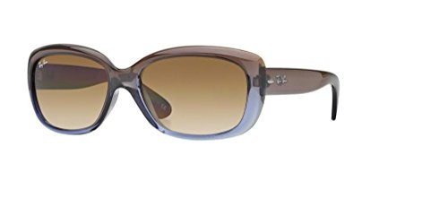 Ray-Ban RB4101 JACKIE OHH 860/51 58M Brown Gradient Lilac/Crystal Chocolate Gradient Sunglasses